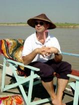 Asien-spezialist Günther Krause in Myanmar