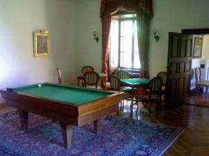 Billardzimmer im Schloss Hedervar