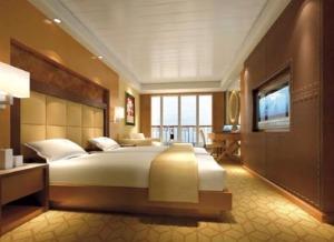 Große Kabinen (44 m²) mit Balkon
