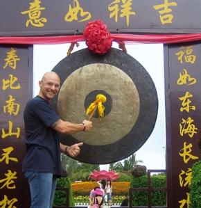 Thomas Krieger auf der südchchinesischen Tropeninsel Hainan