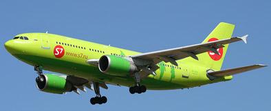 Airbus 310 der russischen Airline S7
