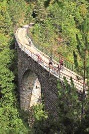 Parenzana-Radstrecke