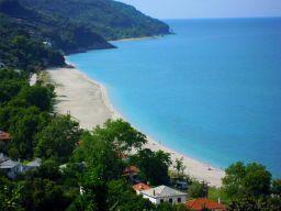 Beach von Horefto: Feiner Sand und keine zehn Menschen