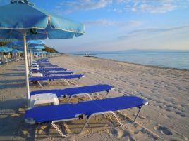 Strand des Hotels Aegean Melathron