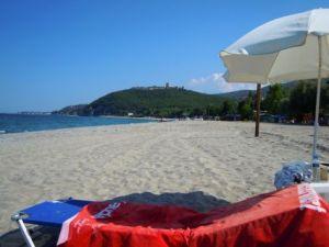 Strand bei Pantelemonas