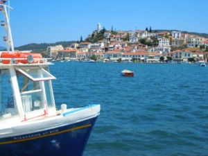 Insel Pooros: Motiv für Maler