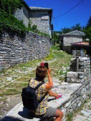 Schönstes Zigoria-Dorf Monodendri
