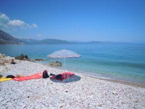 Nizisa-Beach nahe Kalloni
