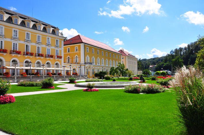 Herzstück von Rogaška Slatina: Kurpromenade