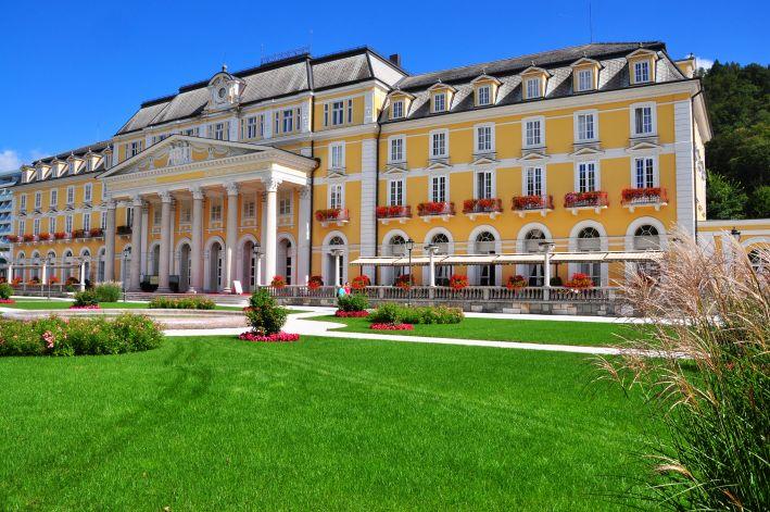 Das einstige Kurhaus ist heute das Grand Hotel Rogaška