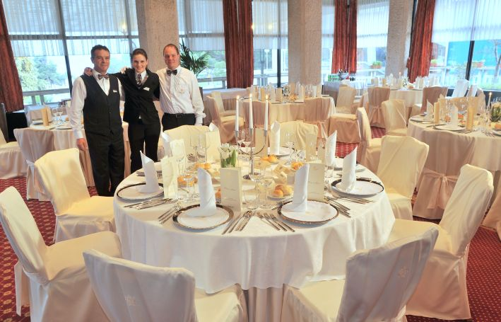 Restaurant Mediteran im 5* Grand Hotel Portoroz, dem Star unter den sechs LifeClass-Hotels