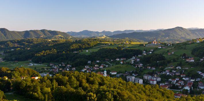 Sanfte Hügel und Weingärten: die Umgebung von Rogaška Slatina ist herzerfrischend