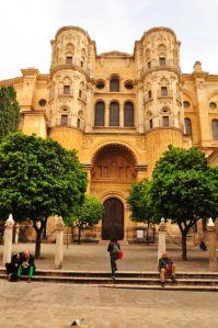 Kathedrale von Málaga hat Balkone