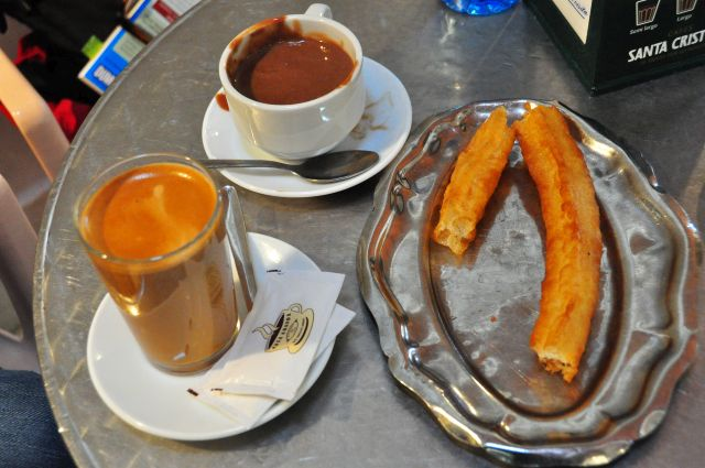 Café, Chocolate und Churros in der . . .