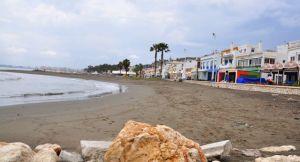. . . Fischrestaurants an der Playa Las Acacias