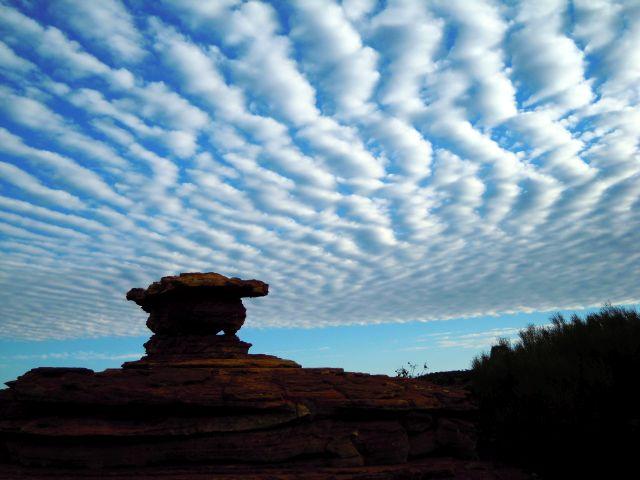 grandioser Wolkenstimmung