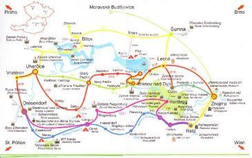 Zwei-Länder-Runde mit Bahn und Bus