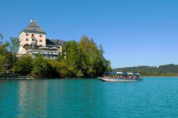 Berühmt aus den Sissi-Filmen: Hotel Schloss Fuschl