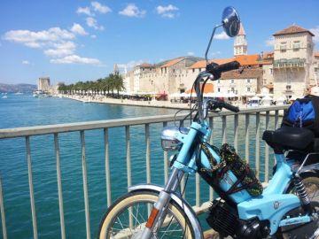 Trogir: Blick zurück