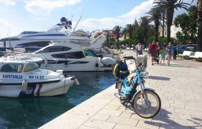 Hafen in Makarska