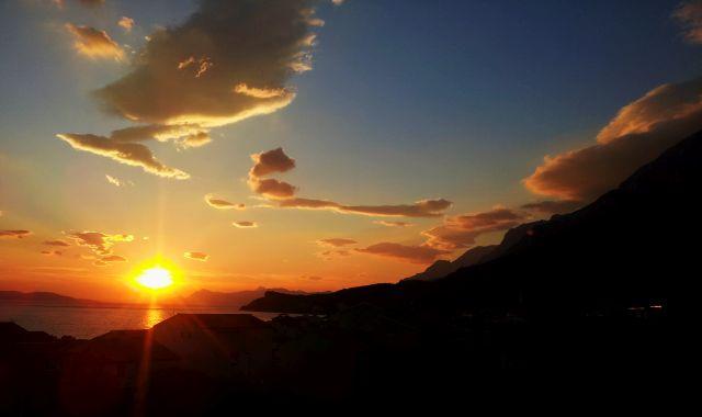 Sonnenuntergang an der Makarska Riviera