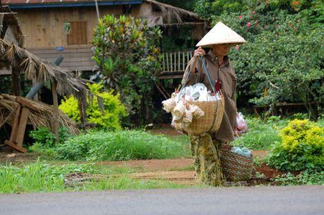 Dorf in Laos