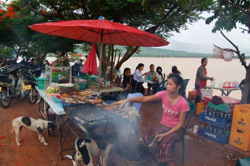 Garküche Laos