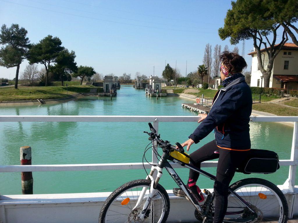 Kanal bei Lignano