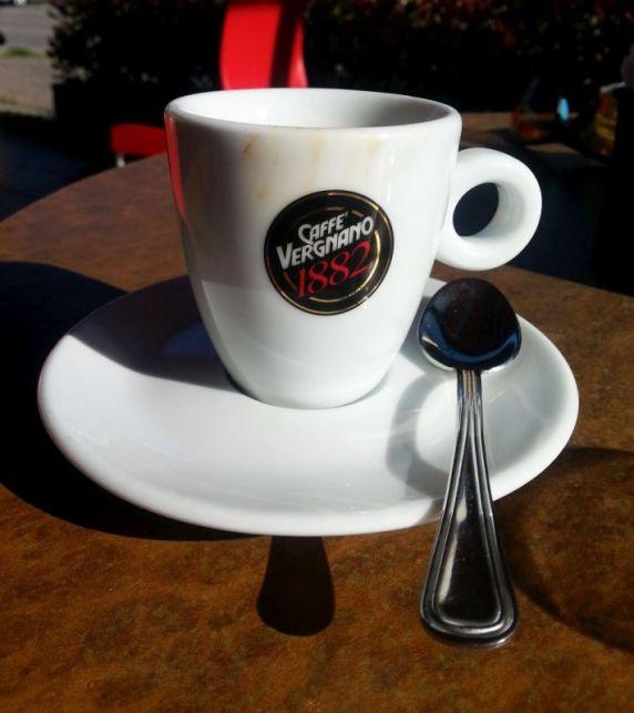 . . . und Café Vergnano, den besten den ich kenne