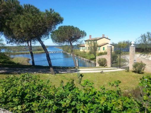 Landhaus in der Lagune zwischen Porto Levante und Rosolina Mare