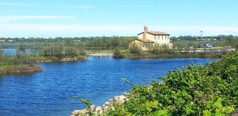 Landhaus in der Lagune zwischen Porto Levante und Rosolina Mare_1
